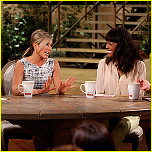 Jennifer Aniston Talks Stripper Workout Details on 'The Talk'