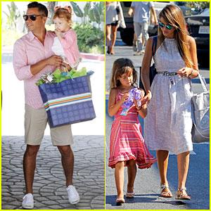 Jessica Alba & Cash Warren: Separate Parental Outings