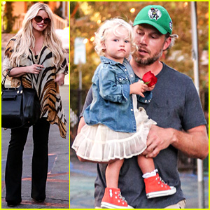 Jessica Simpson Steps Out After Debuting Baby Ace's First Pic!