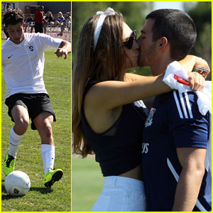 Jonas Brothers: Charity Soccer Game with Wilmer Valderrama