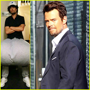 Josh Duhamel: 132-Pound Scrotum for 'Jimmy Kimmel Live!'