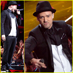 Justin Timberlake: VMAs 2013 Performance - WATCH NOW!