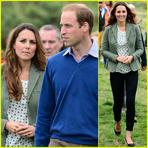Kate Middleton: First Post-Baby Appearance with Prince William!