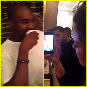 Kim Kardashian & Kanye West Have 'Regular Family Dinner' (Video)