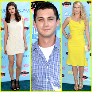 Logan Lerman & Alexandra Daddario - Teen Choice Awards 2013