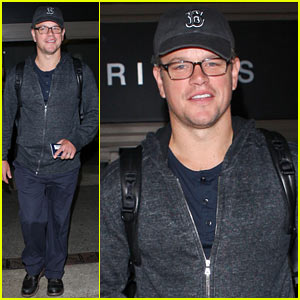 Matt Damon: My Whole Family Knows 'Gangnam Style'!