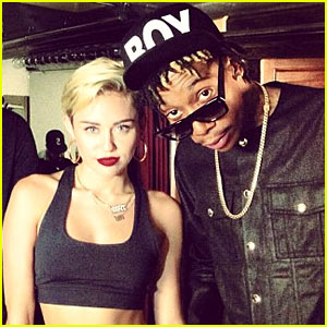 Miley Cyrus: Rapping for Mike WiLL Made It's '23' Video!