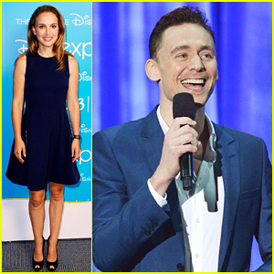 Natalie Portman & Tom Hiddleston: 'Thor' at Disney D23 Expo!