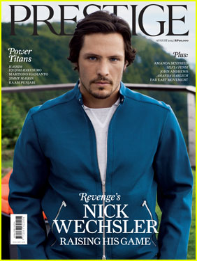 Nick Wechsler Covers 'Prestige Indonesia' August 2013
