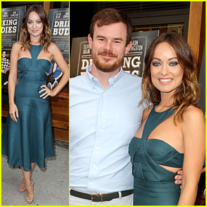 Olivia Wilde: 'Drinking Buddies' NYC Screening!