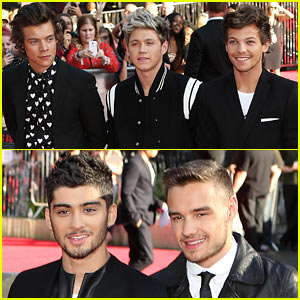 One Direction: 'This is Us' World Premiere in London!