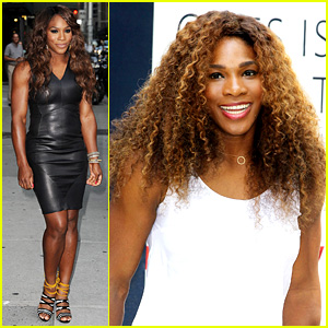 Serena Williams Sports Two Hairstyles in One Day