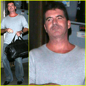 Simon Cowell Gets Back to Work After Baby News