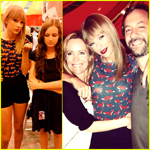 Taylor Swift Becomes Honorary Apatow Family Member!