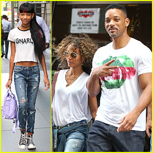 Willow Smith Rocks Long Hair Extensions in New York City!