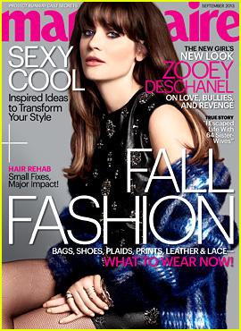 zooey-deschanel-covers-marie-claire-september-2013 jpgZooey Deschanel Marie Claire 2013