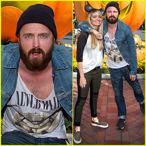 Aaron Paul Visits Disneyland After Breaking Bad's Most Watched Ep!