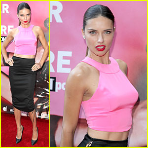 Adriana Lima Blushes After Being Questioned About Virginity!