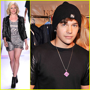 Brittany Snow & Austin Mahone: Just Dance with Boy Meets Girl Fashion Show