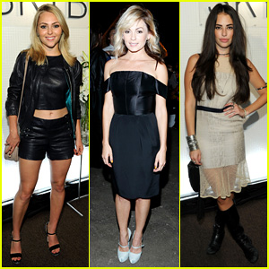 'Carrie Diaries' Ladies: New York Fashion Week Fun!