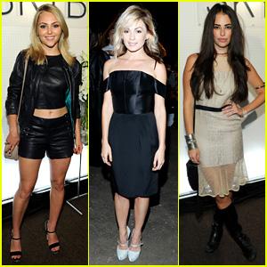 'Carrie Diaries' Ladies: New York Fashion Week Fun!