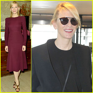 Cate Blanchett: Milan Portrait Session During Fashion Week!
