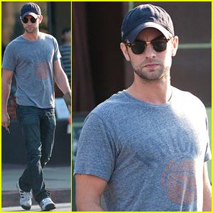 Chace Crawford: 'Undrafted' Begins Filming!