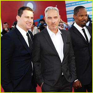 Channing Tatum & Jamie Foxx: Deauville Film Premiere!