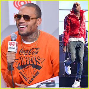 Chris Brown: Flashy Dance Moves at iHeartRadio Music Festival!