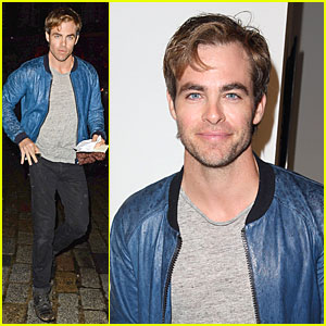 Chris Pine: PPQ Fashion Show in London!