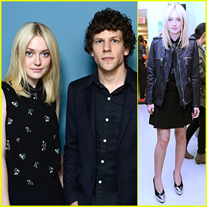 Dakota Fanning & Jesse Eisenberg: 'Night Moves' TIFF Portraits!