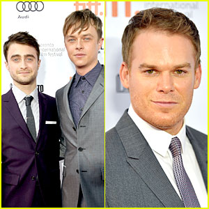 Daniel Radcliffe & Michael C. Hall: 'Kill Your Darlings' TIFF Premiere!