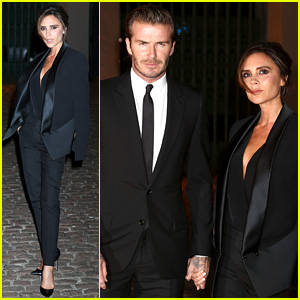 David & Victoria Beckham: Global Fund Celebration!