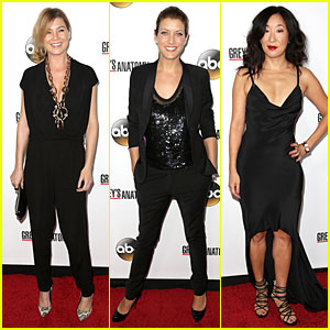 Ellen Pompeo & Kate Walsh Rock Black at 'Grey's Anatomy' Party
