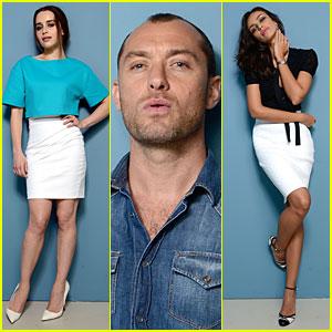 Emilia Clarke & Jude Law: 'Dom Hemingway' TIFF Portraits!