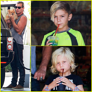 Gavin Rossdale: Malibu Pit Stop with the Boys