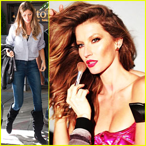 Gisele Bundchen: Proud of Harry Josh & His Eco-Friendly Hair Dryer