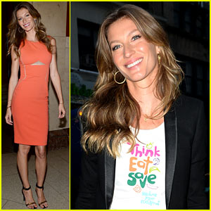Gisele Bundchen: UN Champions of the Earth Awards!