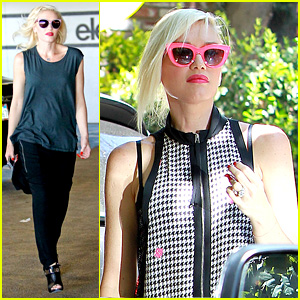 Gwen Stefani & Possible Baby Bump Attend Birthday Party