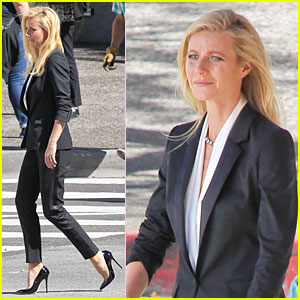 Gwyneth Paltrow: Classy Hugo Boss Shoot!
