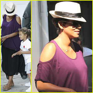 Halle Berry: Beverly Hills Playdate with Nahla