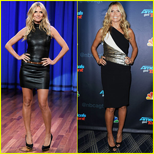 Heidi Klum: 'Terrified' to Film 'Parks & Recreation' Guest Spot