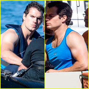 Henry Cavill Films 'Man from U.N.C.L.E.' After Ex Kaley Cuoco's Engagement News
