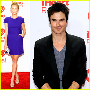 Ian Somerhalder: iHeartRadio Music Festival with 'Vampires'!