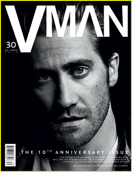 Jake Gyllenhaal Covers 'V Man' Fall/Winter 2013