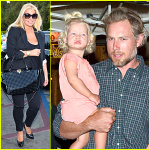 Jessica Simpson & Eric Johnson: Sagebrush Cantina Dinner!