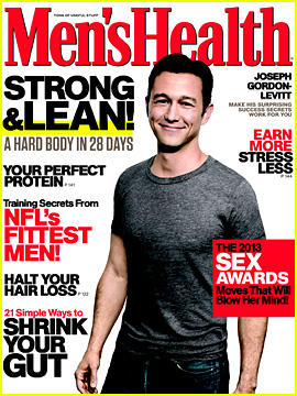 Joseph Gordon-Levitt Covers 'Men's Health' October 2013