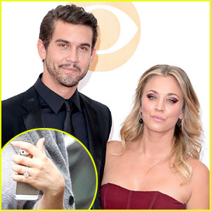 Kaley Cuoco: Engaged to Ryan Sweeting After 3 Months of Dating