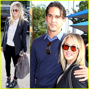 Kaley Cuoco & Ryan Sweeting: U.S. Open Finals Couple!
