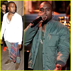 Kanye West: Diesel Black Gold Show After 'Fallon' Surprise!